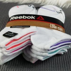 Reebok 6-Pack Ladies Low Cut Socks